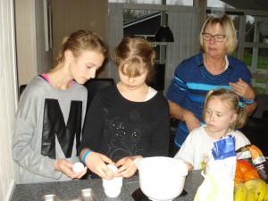 AHC-børn der bager